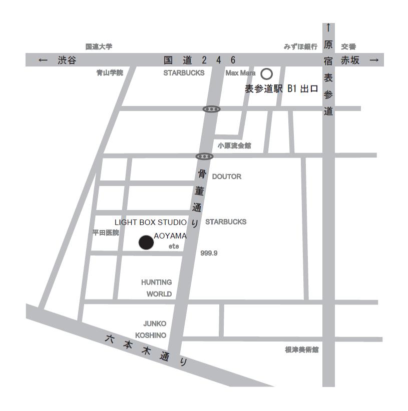 地図_LIGHT BOX STUDIO AOYAMA