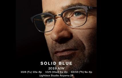 メンズメガネブランドSOLID BLUE ソリッドブルーバナー
